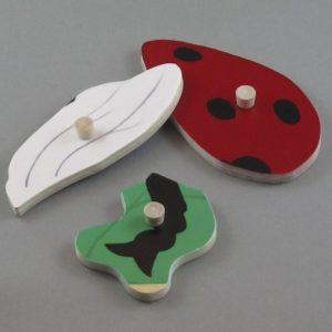 Ladybug red detail