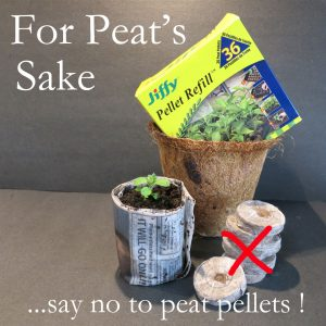 For Peat's Sake – Save the Peat Bogs !