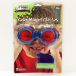 Primary Science color mixing glasses.