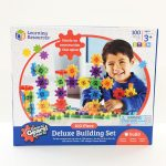 Gears deluxe building set 100 pieces.