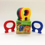 Primary Science Mighty Magnets are oversized, horseshoe shaped and easy to grip. Box of 6.