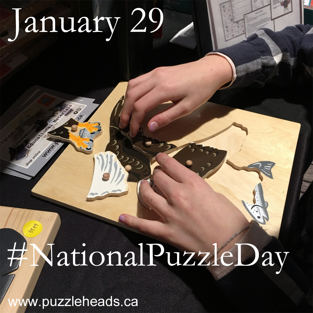 National Puzzle Day is Jan 29 every year.