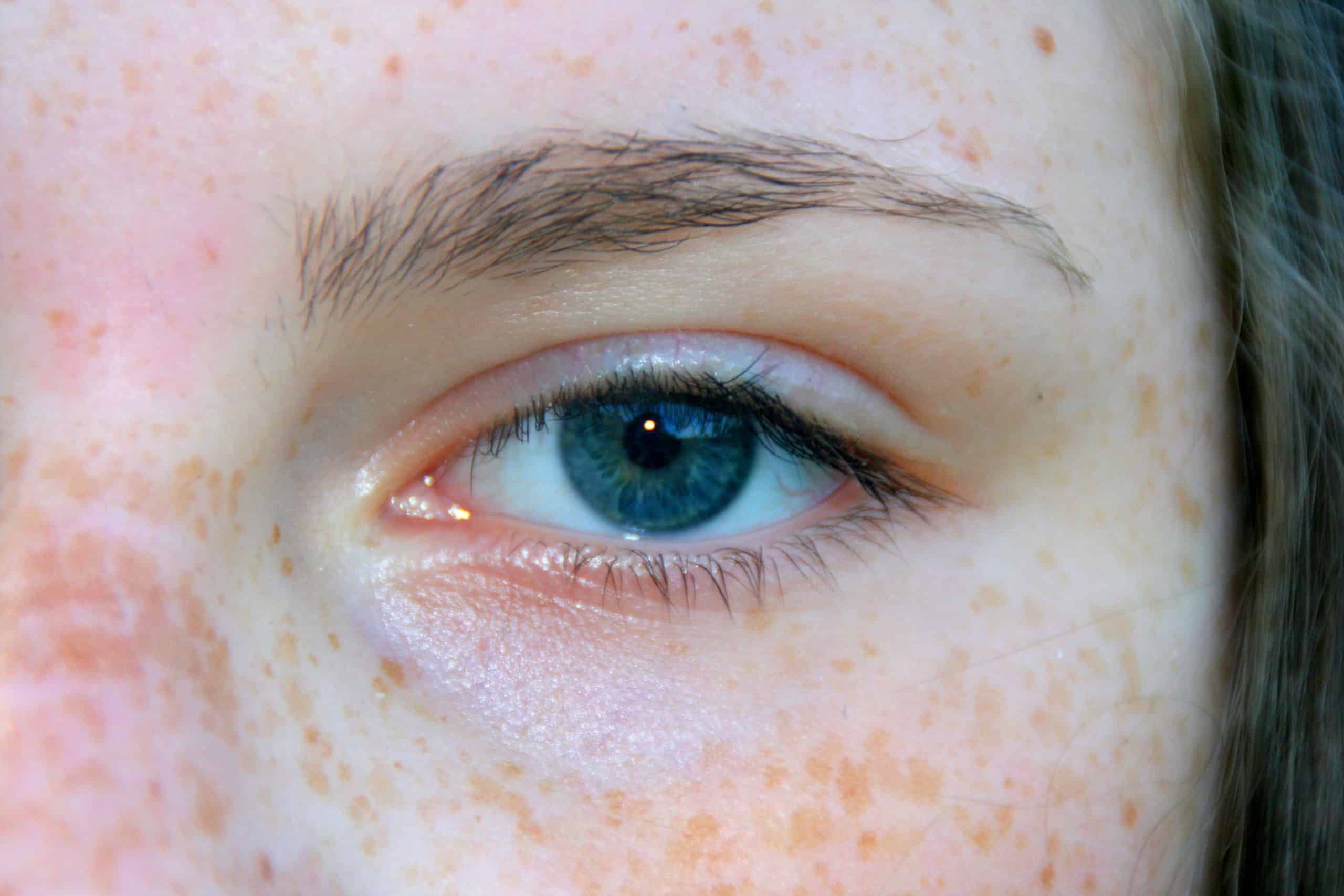 Blue eyes are a recessive gene.
