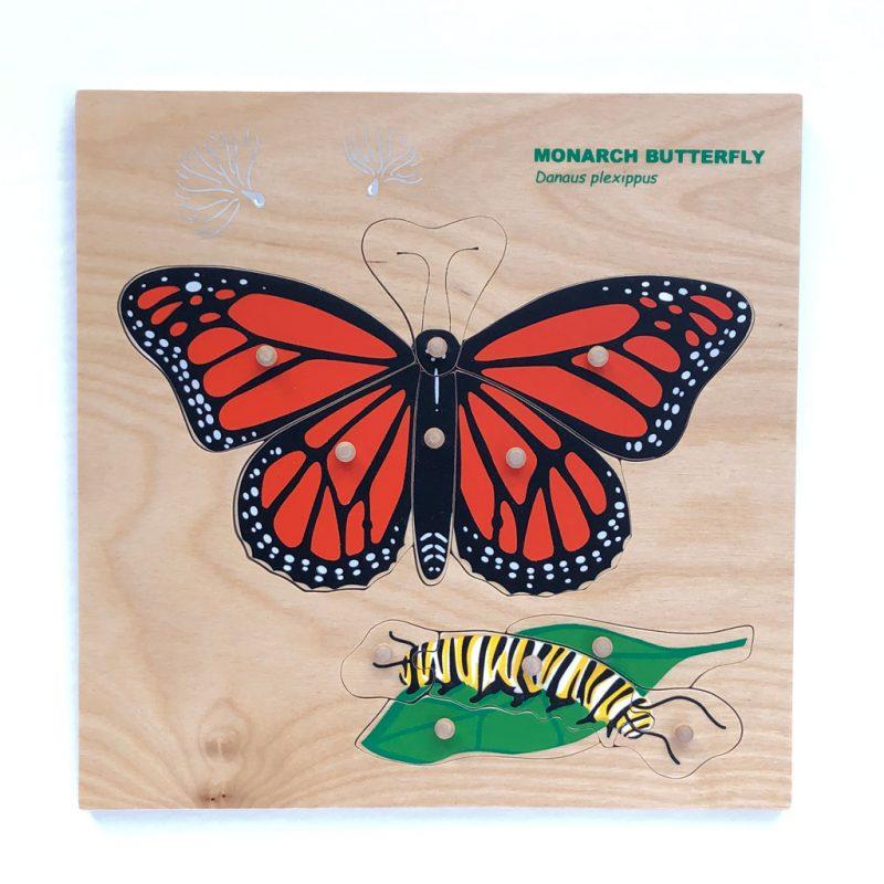 Wooden Monarch puzzle.